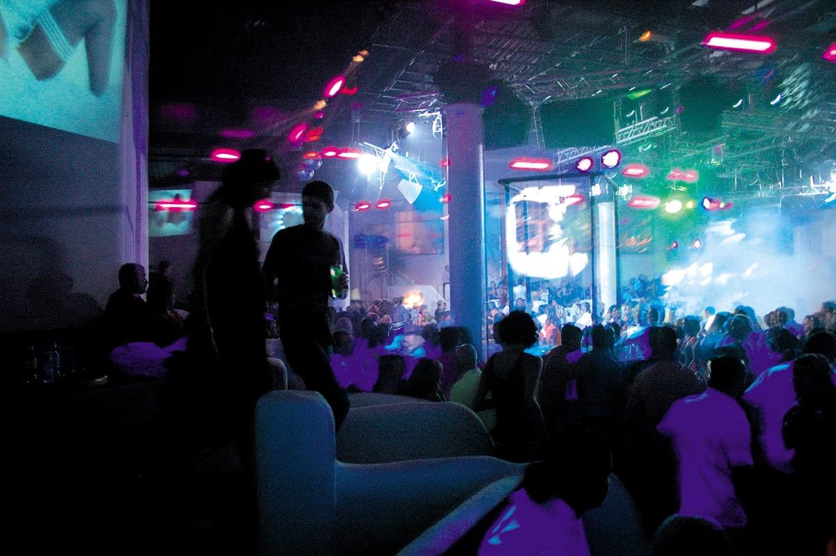 Nightlife in einem der zahlreichen Clubs