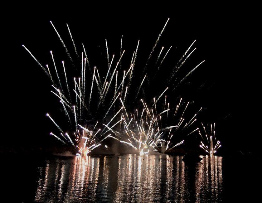 Piratenfest Feuerwerk