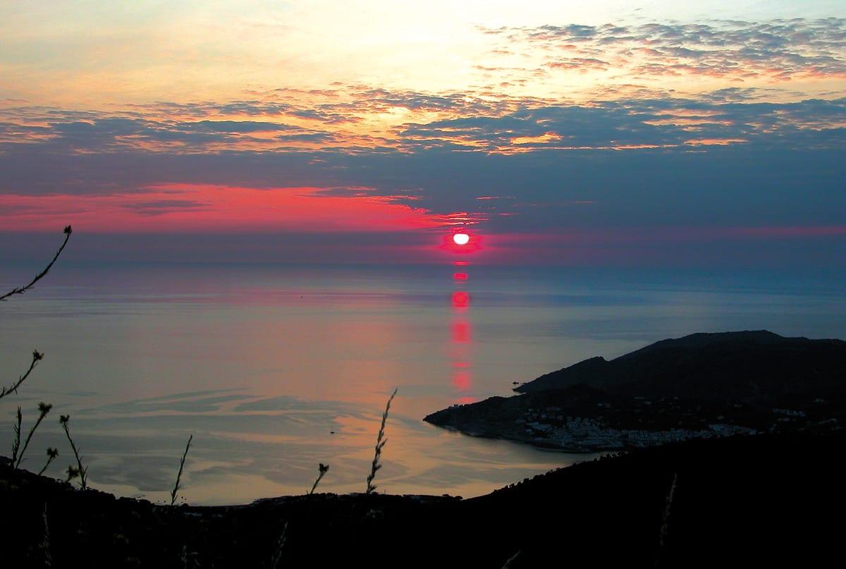 Der Sonnenaufgang - Sant Pere de Rodes