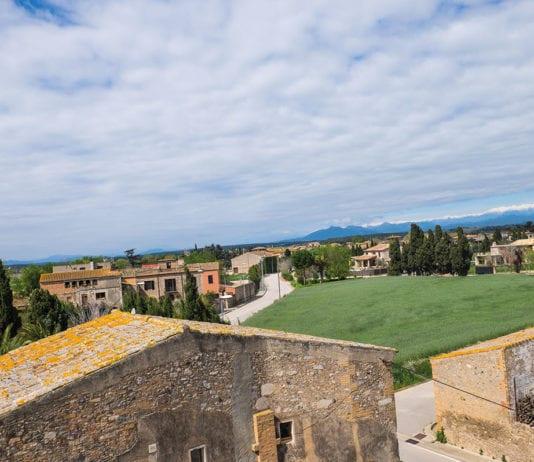 Blick über das Dorf