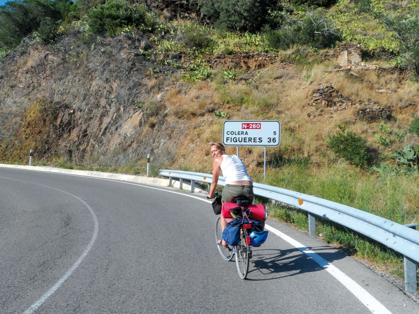 Radweg Colera